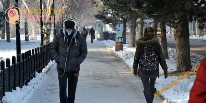 'Soğuk hava kalp krizi riskini artırıyor'